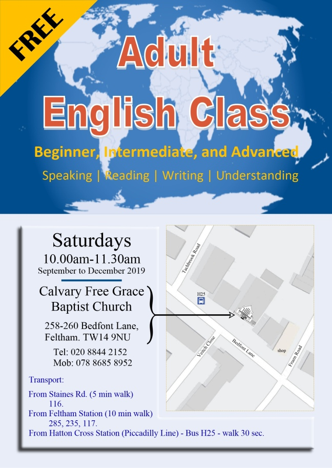 English Class Leaflets new